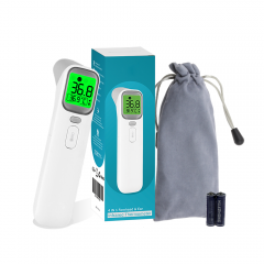 AOJ-20A Touchless Forehead Thermometer for Adults, Infrared and Ear Thermometer OEM for Fever, Babies, Children, Adults, Indoor and Outdoor Use