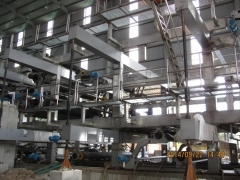 Triplex board paper making machine