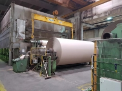 Fourdrinier kraft paper making machine