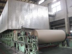 Corrugated paper machine