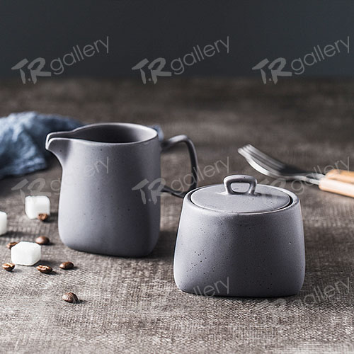 Milk Jar and Sugar Pot