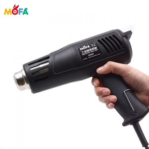 High power adjustable temperature electric heat gun with CE air gun hot