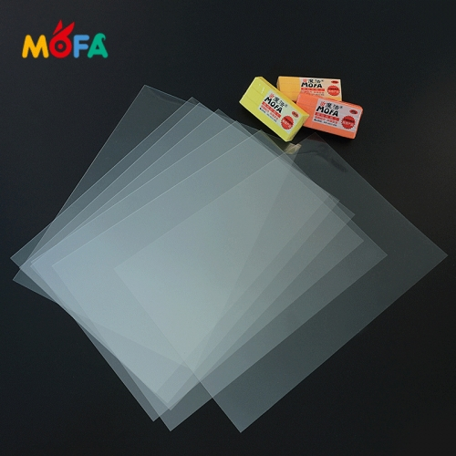 Transparent A4 Size PVC Sheet For baking clay artwork Polymer Clay Tools