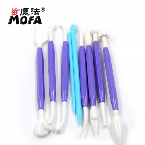 MOFA Best Selling Item Pottery Supplies 9 Pcs Set Sculpture Ceramic Polymer Clay Tools