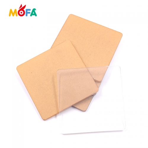 High quality Transparent Acrylic board /PMMA sheet for clay tools kids