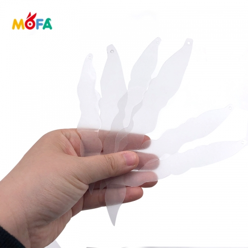 MOFA Clear Shrink film sheet for children,inkjet printer shrinky dinks paper