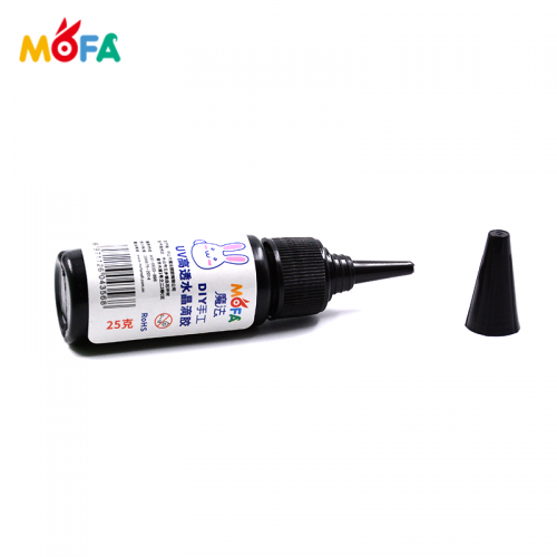 MOFA Hard Type for Polymer Clay Dimensional Gloss 25g UV Resin