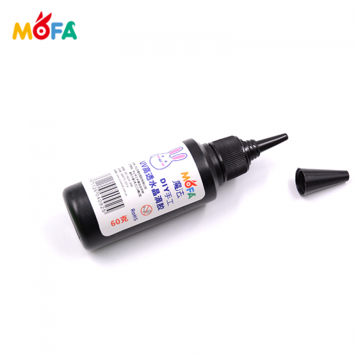 Hot Sale DIY Acrylic Clear Curable Hard UV Glue Used For Make Handmade Jewelry UV Resin