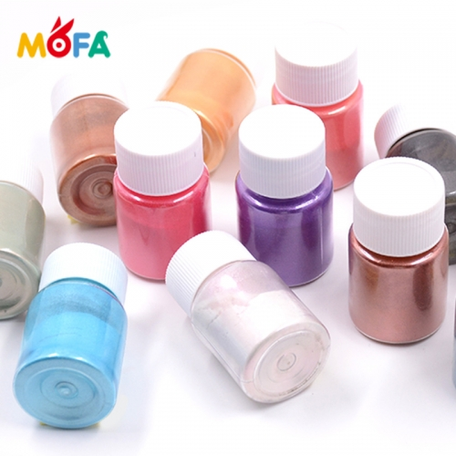 Colored Mica Powder Magic Coloring Pearl Pigment for Plastics/Resin/Paints/Nail Polish Mica Powder