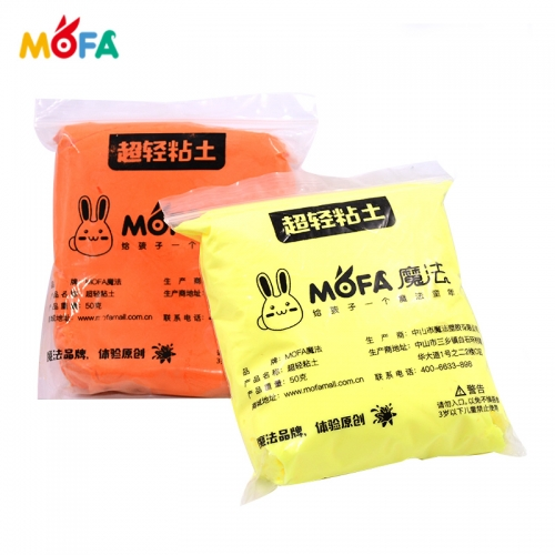 MOFA DIY 24 Colors Sculpting 3D Air Dry Clay 500G Paper Modeling Clay
