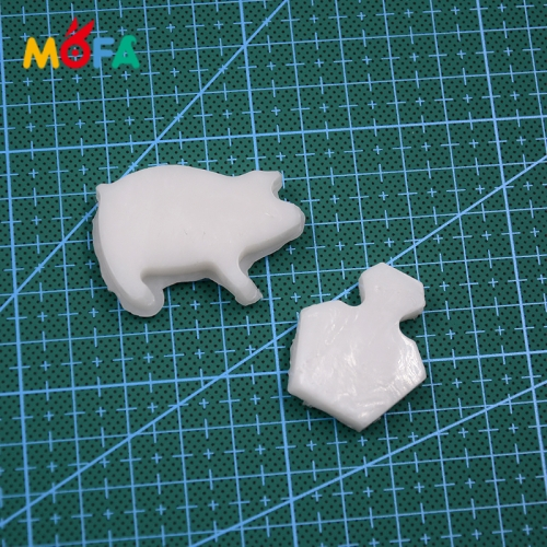 MOFA transparent Polymer Cake Soft Clay Kit For Decoration polymer clay