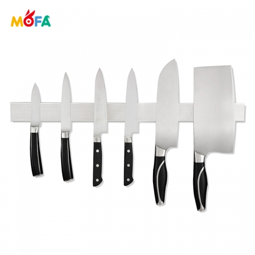 "Professional Grade 16 ""304 Stainless Steel High load capacity Magnetic Knife Holder"