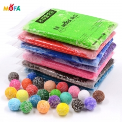 100 gram Modeling Craft Foam Clay Funny snow clay foam modeling clay