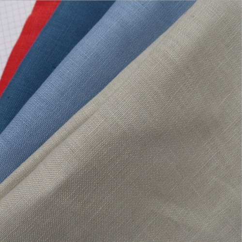Multicolor choose 100% pure linen washed linen fabric for garment