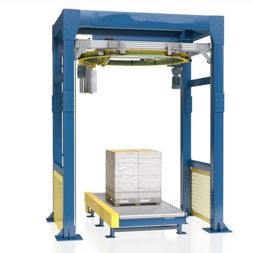 Ring type high speed pallet stretch wrapper TP-HR1X