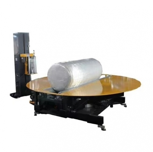 Automatic paper jumbo roll stretch wrapping machine TP-JP165