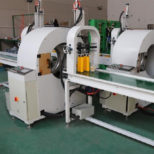 Horizontal orbital stretch wrapper HM-A500