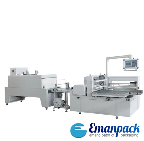Premium side sealing shrink wrapping machine SW-M1100-X