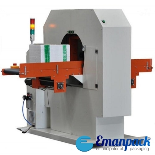 Orbital adhesive tape wrapping machine HM-TP