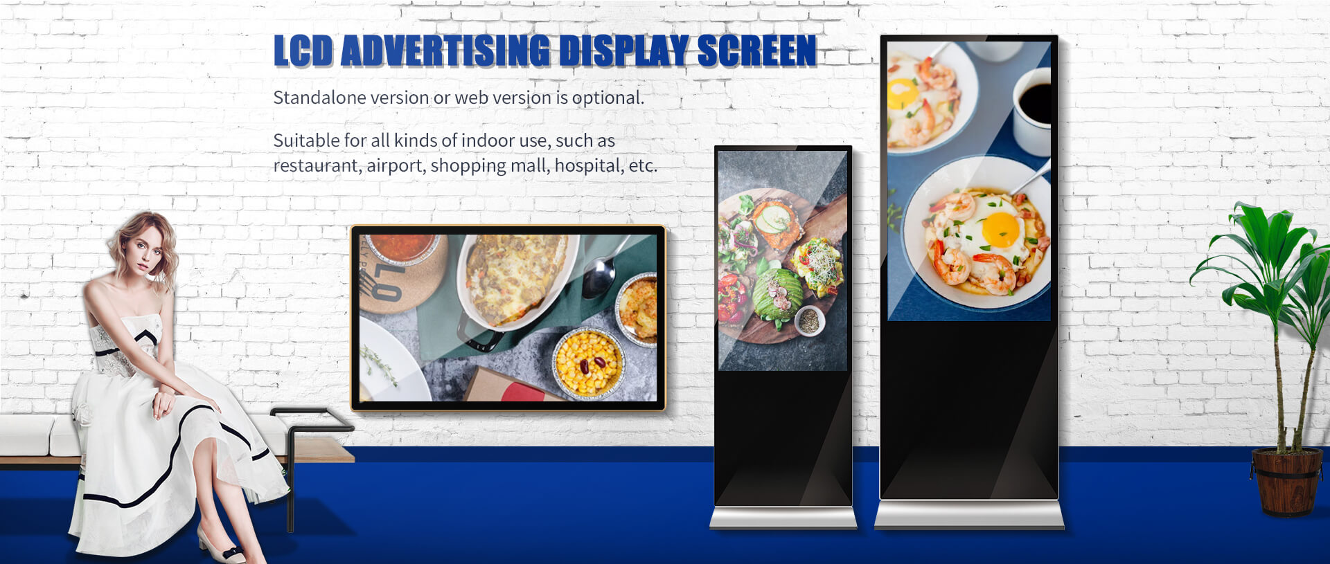 Digital Advertising Screen