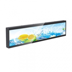 LCD Screen Stretched Bar / Ultra Wide Digital Signage Display Screen