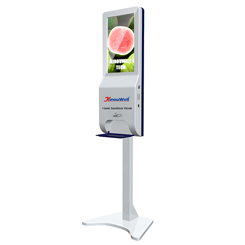 Floor Standing Hand Sanitizer Dispenser Kiosk