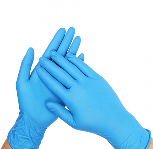 Disposable Nitrile Gloves Blue