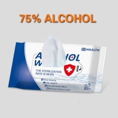 Medical Disinfectant 75% Alcohol Cleaning Wipes