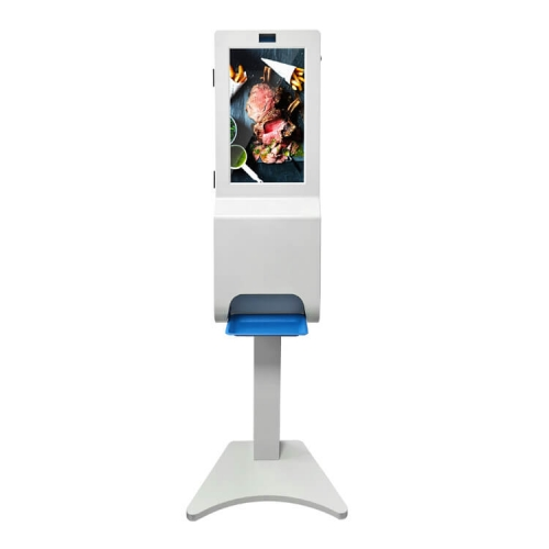 Advertising Display & Advertising Touchless Hand Sanitizer Dispenser