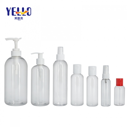 Clear Plastic Sanitizer Spray Bottle 50ml 100ml 200ml 250ml