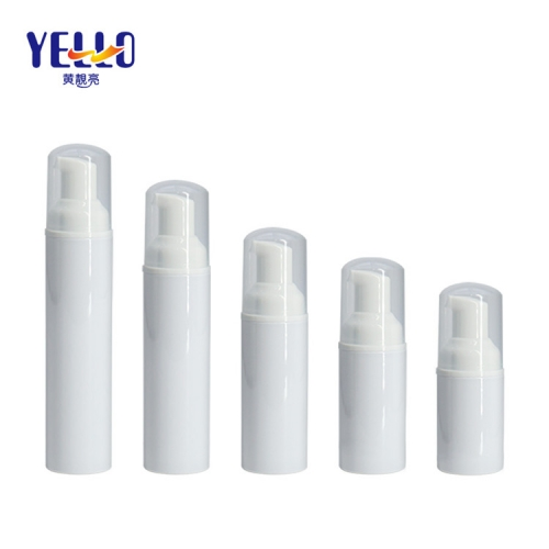 50ml 60ml 100ml Foam Pump Bottle For Facial Cleanser Custom Printing