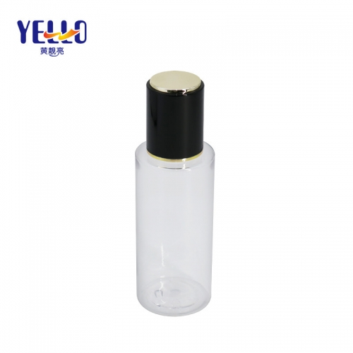 Durable PET Cosmetic Bottles , Custom Color Empty Cosmetic Containers