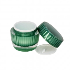Fashionable Cosmetic Round Acrylic Lotion Bottles And Cream Jars