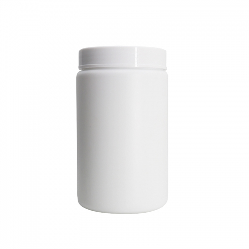 1000ml Large HDPE Empty Cosmetic Plastic Bottle Jar For Storage