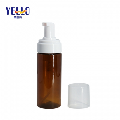 120ml PET Empty Foaming Bottles For Liquid Facial Cleanser