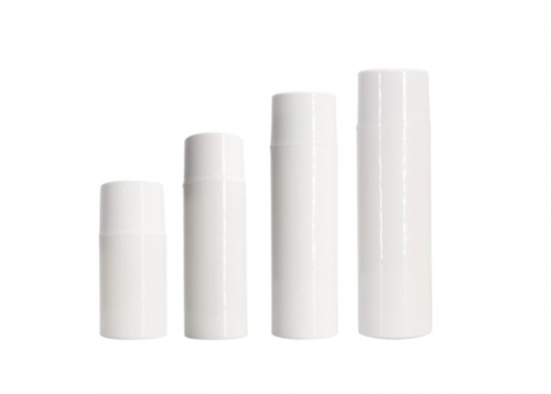 Refillable Airless Cosmetic Containers PP Material Hot Stamping Printing