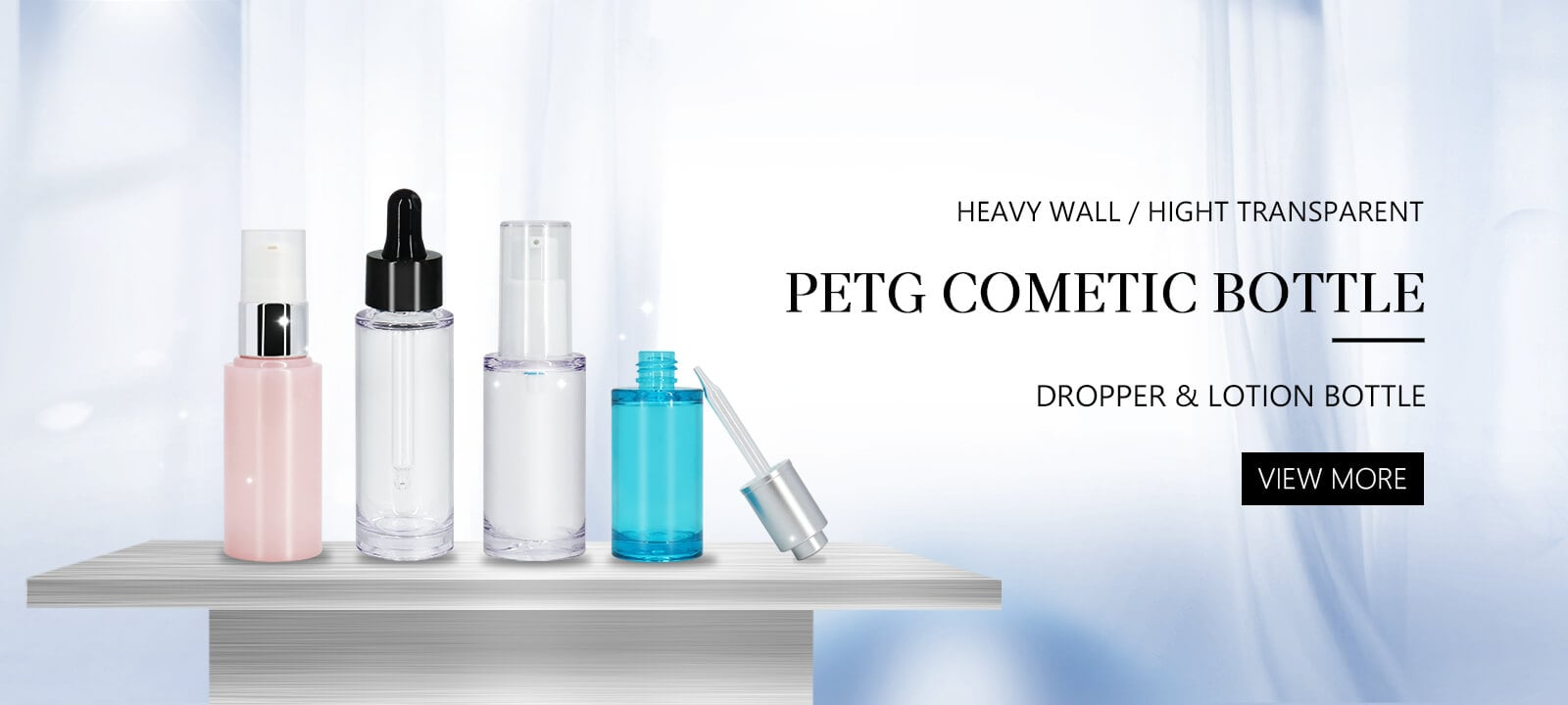 PETD Cosmetic Bottle
