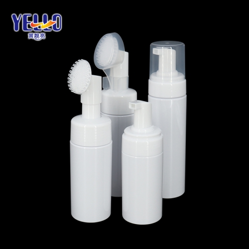 100ml 120ml 150ml Foam Pump Bottle For Liquid Face Cleanser Custom Color