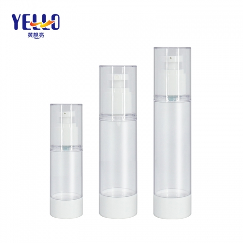 30ml 80ml 100ml Airless Cosmetic Bottles , Lotion Bottle with Airless Pump