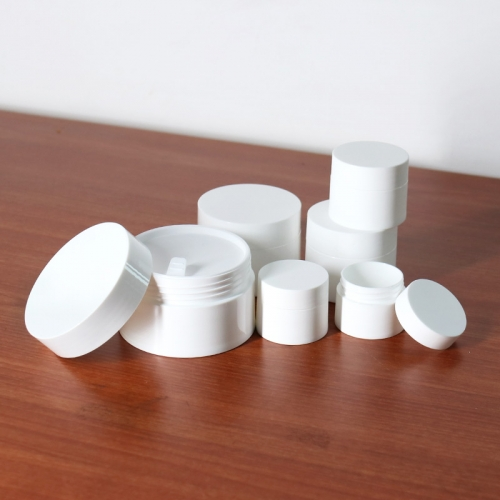 10g 30g 50g Round Plastic Cosmetic Cream Jar Wholesale