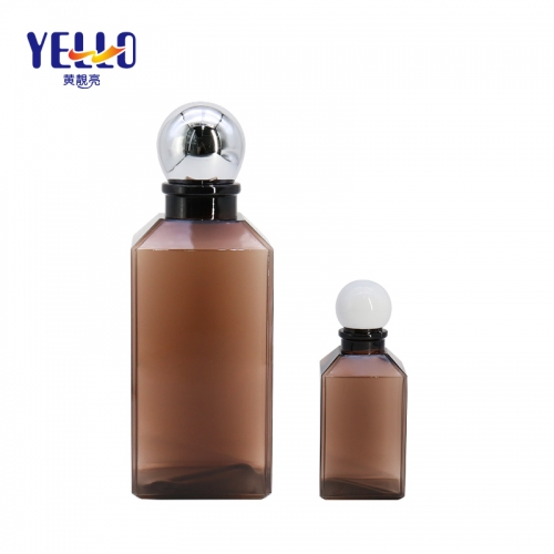 Wholesale Empty Square Plastic Lotion Bottle 500ml , Cosmetic body Lotion Holders