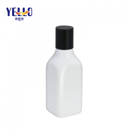 200ml White Containers for Hand Lotion , Body Lotion Bottle with Screw Cap