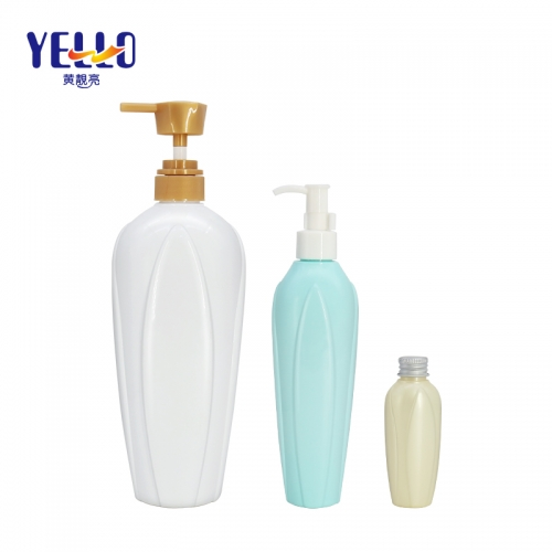 80ml 300ml 1000ml PET Shampoo Bottles / Empty Body Wash Bottles Bulk