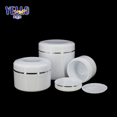Empty Big Capacity 450 g 500 g Cream Jars / Cosmetic PP Material Body Cream Jar