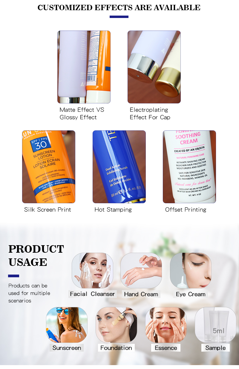 process of cosmetic soft tube