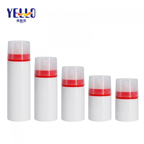30ml 50ml 100ml Refillable Airless Pump Bottles / Airless Bottle Cosmetic Packaging