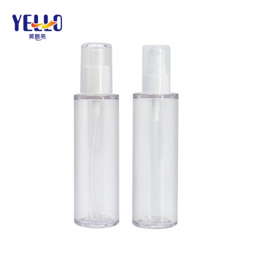 Eco Friendly PETG Clear Spray Bottles / 3.4 oz 100ml Face Fine Mist Spray Bottles
