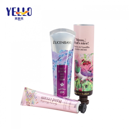 30gm 1oz Plastic PE Tubes For Hand Cream , Customized Laminated Cosmetics Tube Container Packaging