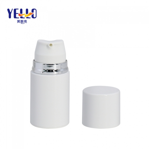 New Launched PCTG Airless Spray Bottle For Lotion / Plastic Liquid Cosmetic Vacuum Containers 100ml