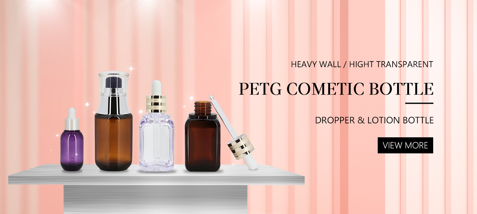 Cosmetic Dropper Bottle